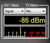 Transmit Meter Selected